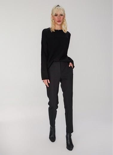 People By Fabrika Klasik Pantolon Siyah